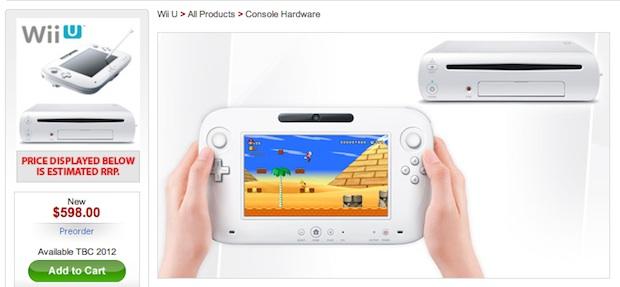¿Posible precio para Wii U?