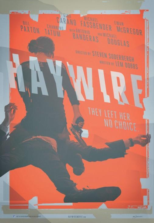 Poster y trailer de 'Haywire' lo nuevo de Steven Soderbergh