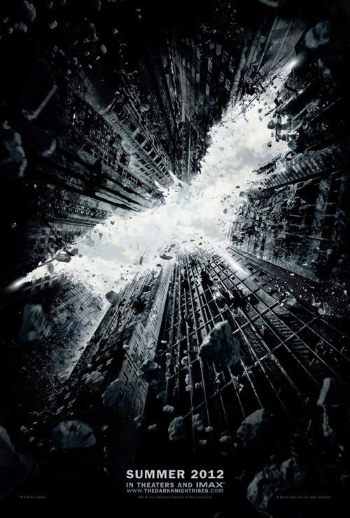 Primer poster de Batman:The Dark Knight Rises