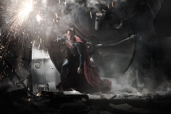 Primera imagen oficial de Superman: Man of Steel