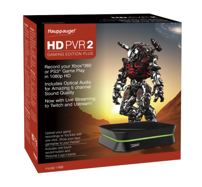 Hauppauge presenta en el CES 2013 la nueva capturadora HD PVR 2 Gamming Edition Plus, con sonido envolvente 5.1 y streaming