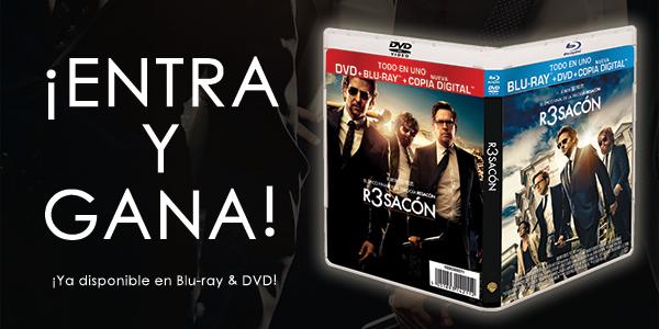 Sorteo: Gana un combo Blu-Ray/DVD/Copia Digital de 'R3SACÓN'