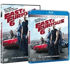 'Fast & Furious 6′, a la venta el 16 de octubre en Blu-Ray y DVD