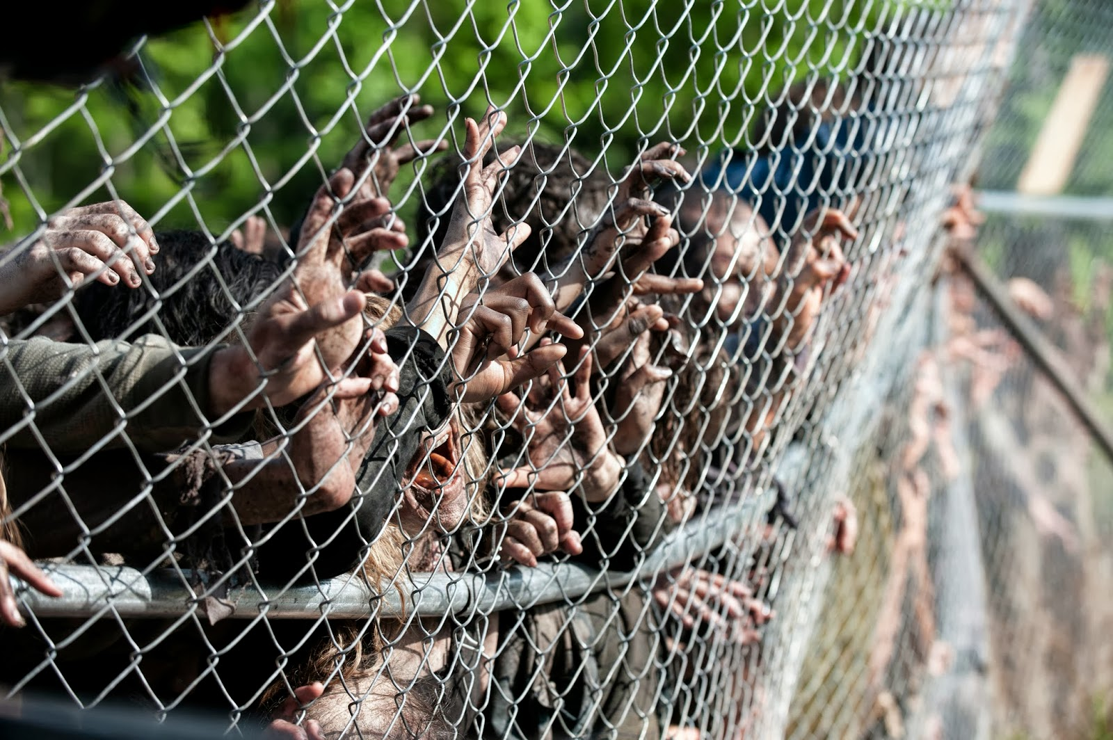 Walkers - The Walking Dead _ Season 4, Episode 1 - Photo Credit: Gene Page/AMC