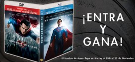 Concurso: Gana un combo Blu-Ray/DVD/Copia Digital de 'Man of Steel'