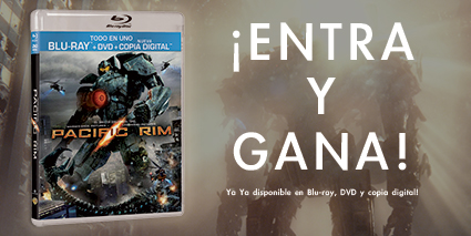 Regalamos un combo Blu-Ray/DVD/Copia Digital de 'Pacific Rim'