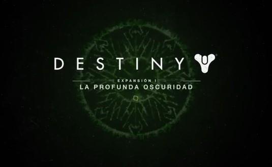 """Destiny: """"Expansión I: La Profunda Oscuridad"""" ya disponible"""