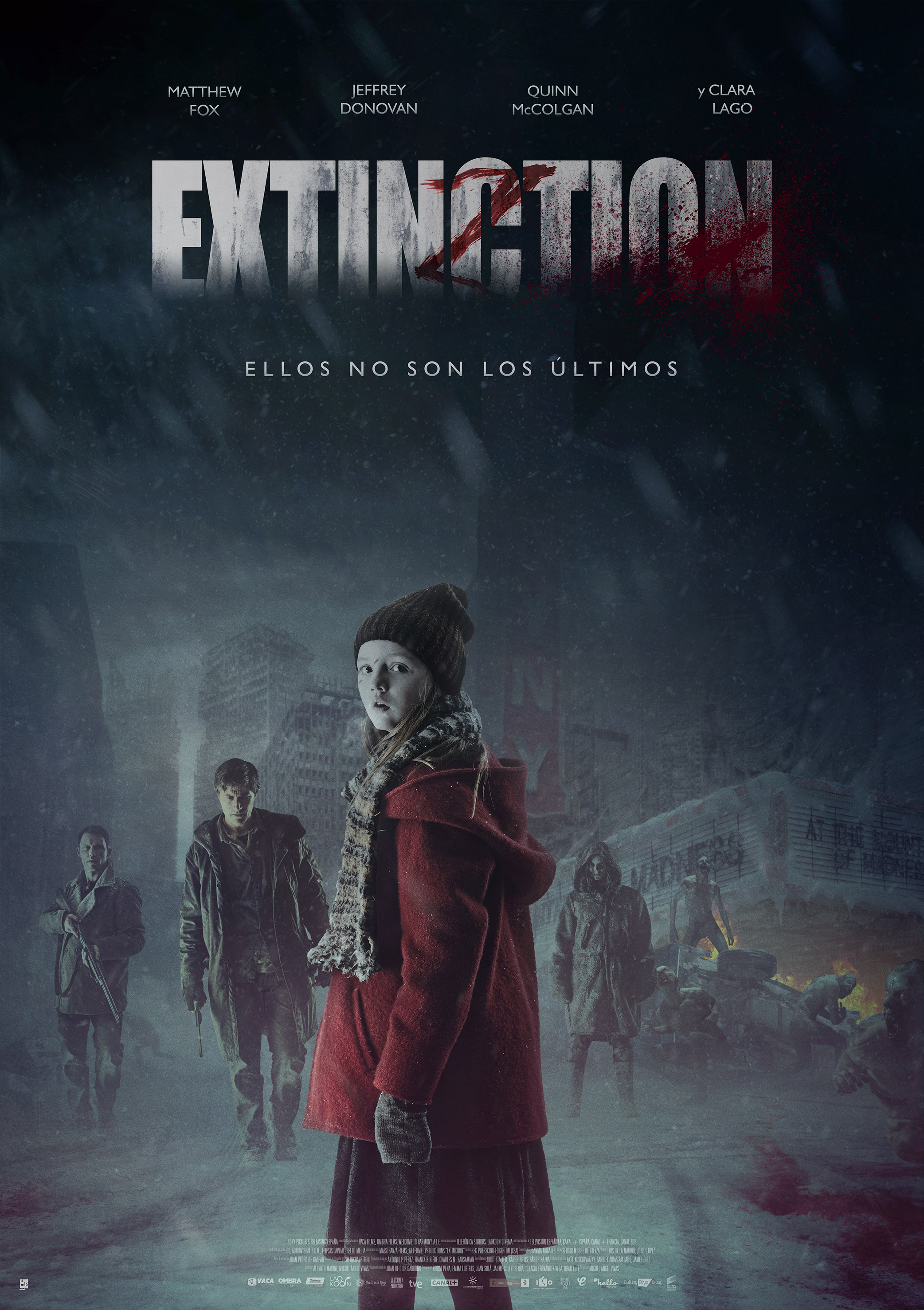 Extinction - Poster final